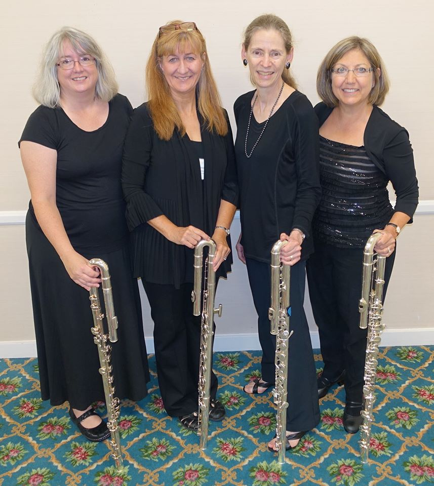 NFA 2016 Professional Flute Choir Bass Section, San Diego