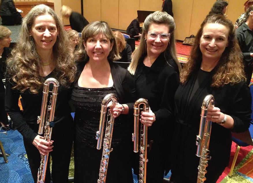 NFA 2015 Professional Flute Choir Bass Section, Washington DC