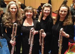 NFA 2015 Professional Flute Choir Bass Section, Washington DC