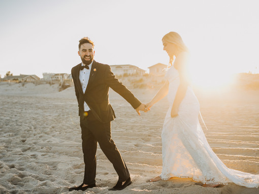 Long Beach Island Wedding  the perfect place to GET HITCHED