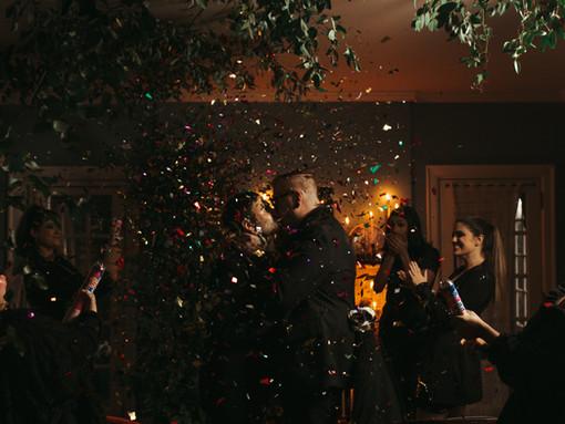 LGBTQIA Moody + Intimate Wedding Inspiration