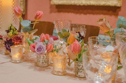 Spring Colourful Tulips Long Tables