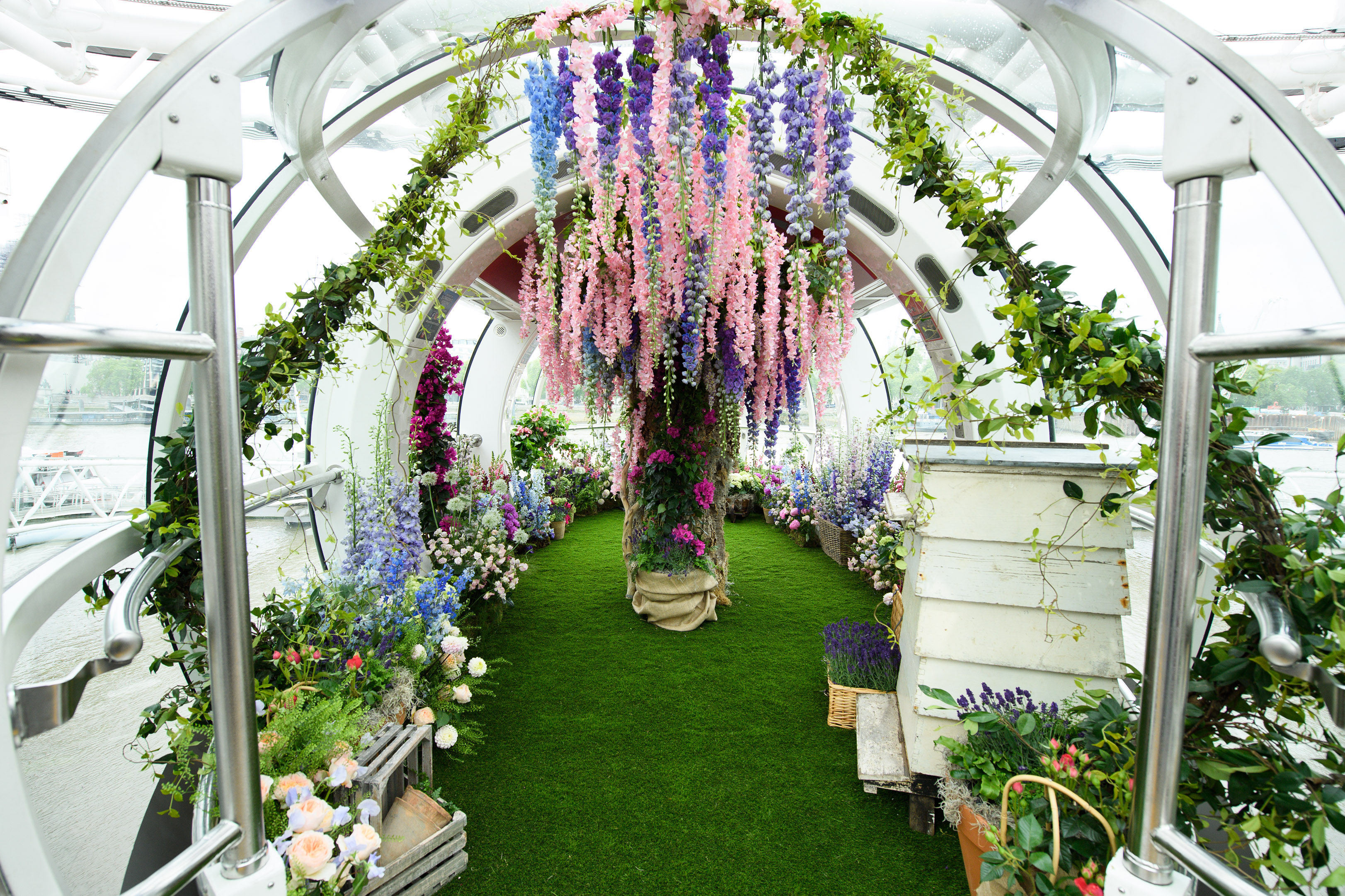 Chelsea Flower Show in the London Eye - Bespoke Events London