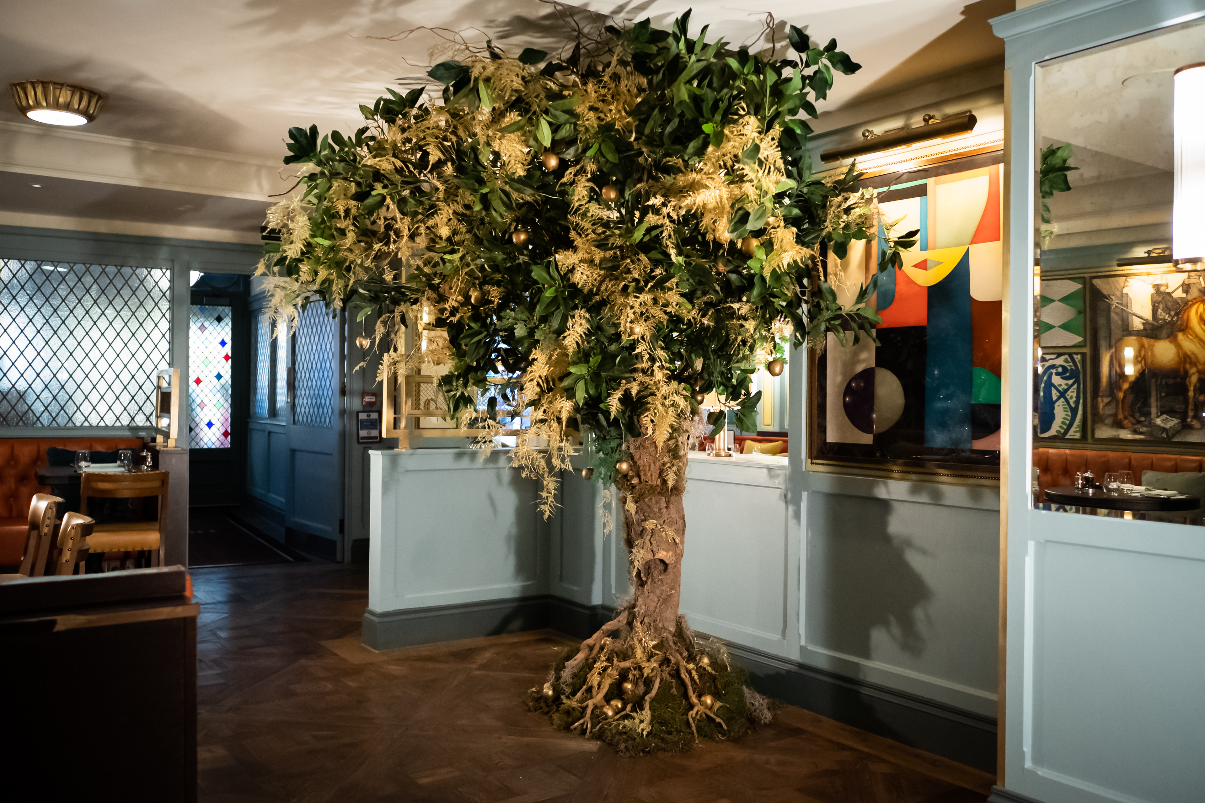 Golden Tree - The Ivy Cambridge