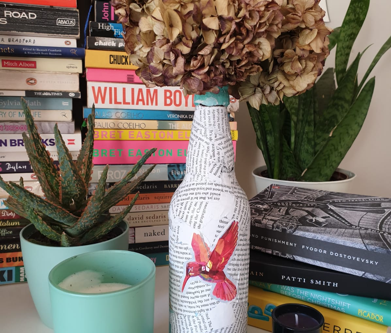 #PinstripesChallenge: Homemade Vases