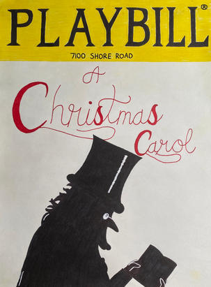 A Christmas Carol Playbill
