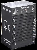Meuble rechargement 10 tablettes téléphones