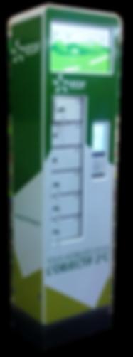 Borne de rechargement des batteries des téléphones mobiles personnalisées EDF pour l'événement de la COP 21