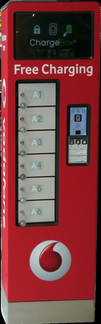 ChargeBox Opération Vodaphone