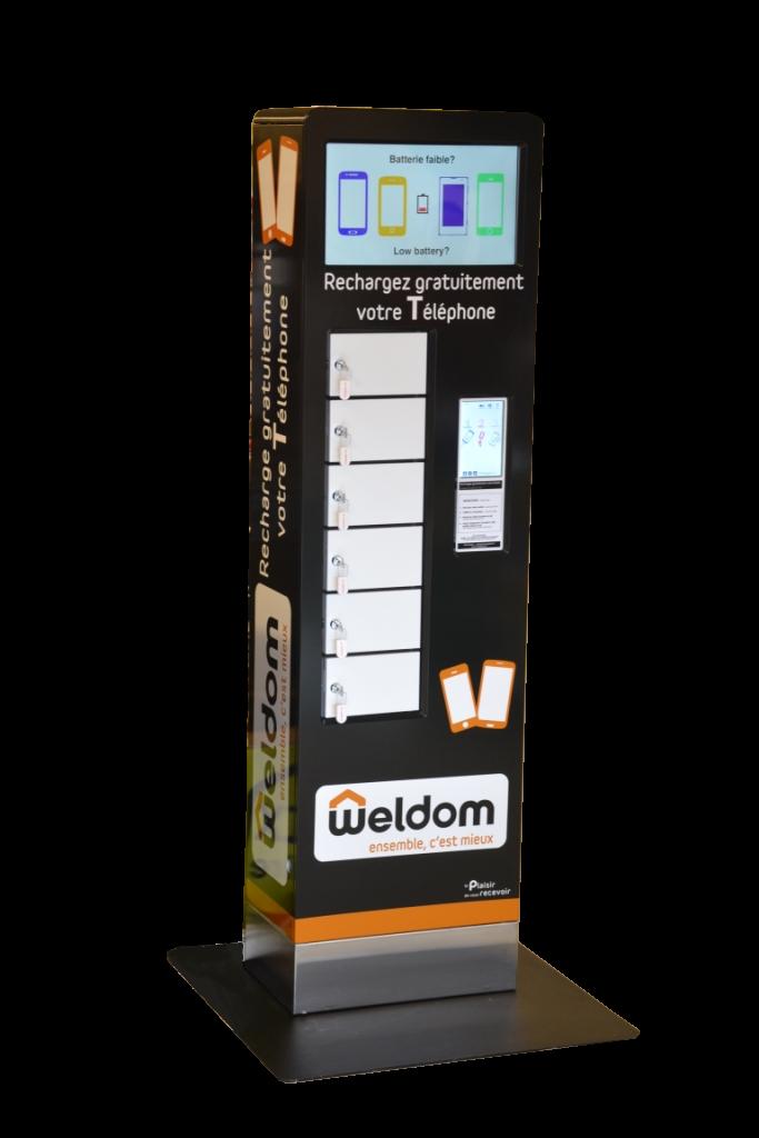 ChargeBox Weldom