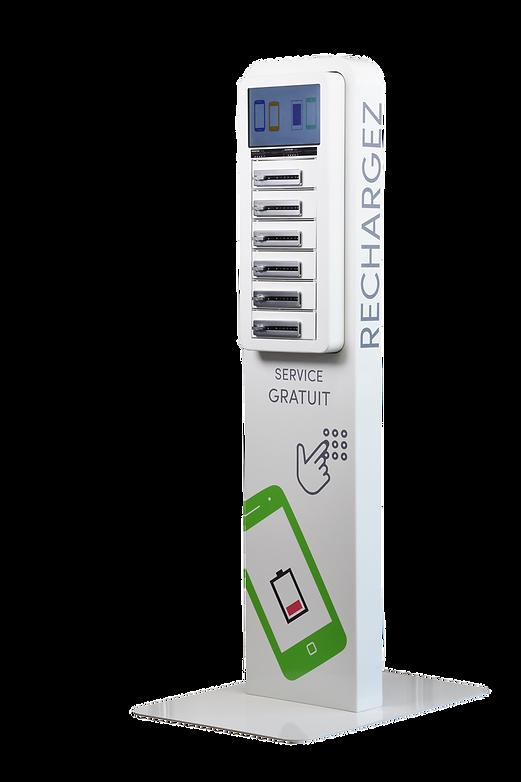 Borne de rechargement de smartphones COMPACT PLUS ChargeBox