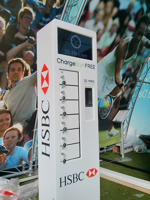 HSBC VIP Tournoi ChargeBox