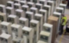 Photo de la production des Bornes de rechargement des téléphones mobiles, smartphones et tablettes de la société ChargeBox Ltd