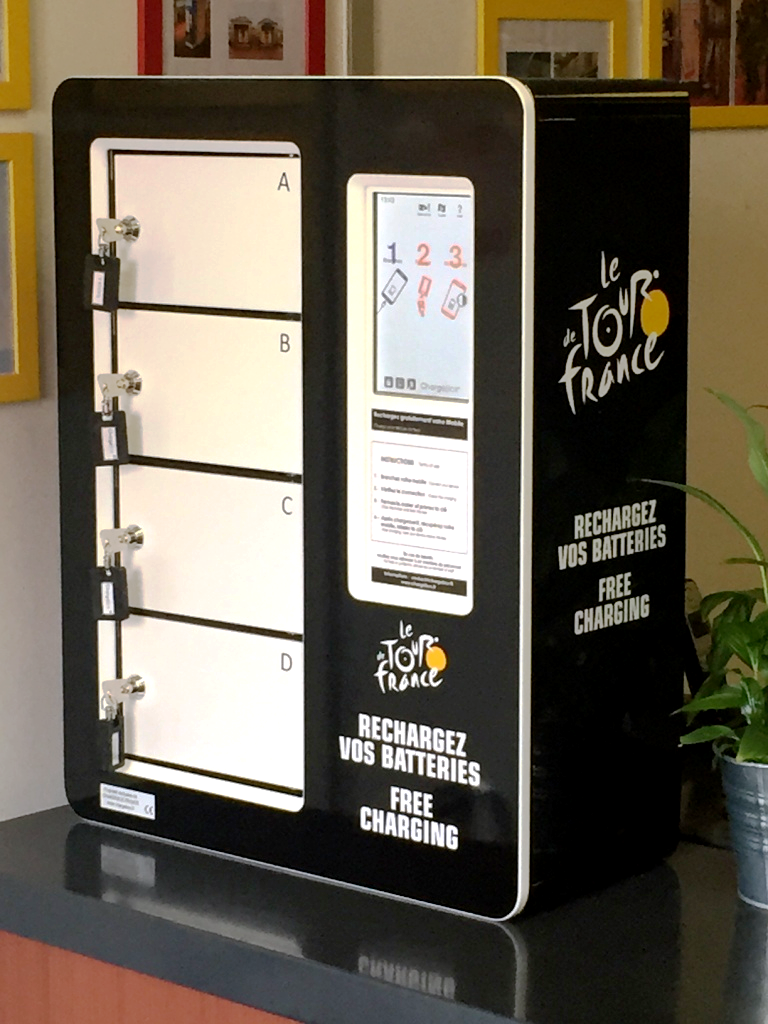 ChargeBox SMART Tour de France 2015