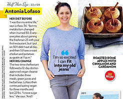 spread in People Magazine featuring Chef Antonia Lofaso