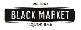 Black Market Liquor Bar logo
