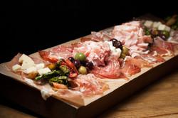 Platter of Italian Cured Meats