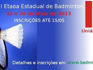 II Etapa do Campeonato Estadual 2013