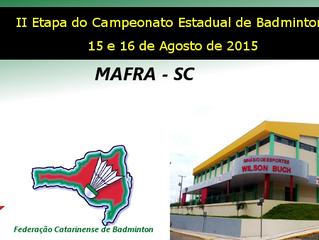 III Etapa do Campeonato Estadual 2015