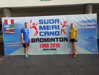 Sul Americano de Badminton 2018 - Peru