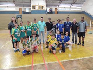 Badminton nos Jogos Escolares Municipais de São Miguel do Oeste