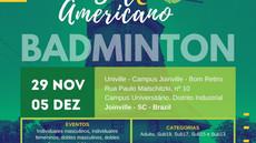 Campeonato Sul Americano de Badminton em Joinville SC