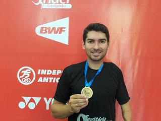 Atleta catarinense Ricardo Cavalli conquista medalha no Panamericano de Parabadminton