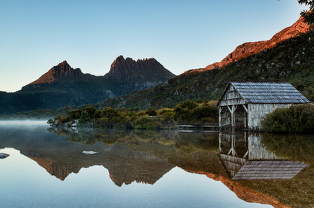 Cradle Mountain Boat Shed