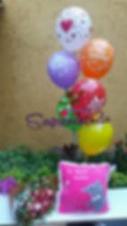 sorprendiendo, flores y globos, regalos de amor y amistad