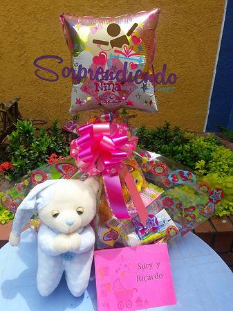 regalo sorprsa para una bebita recien nacida