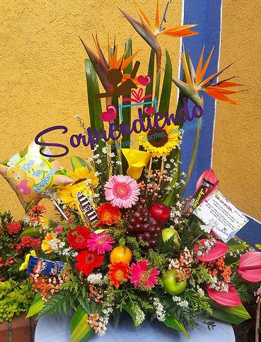 flores y frutas, sorprendiendo, regalos reconciliacion, regalos de perdon