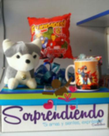 Chiquisorpresa, sorpresa infantil, sorprendiendo, regalo cumpleaño niño