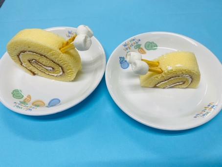 かたつむりロールケーキ