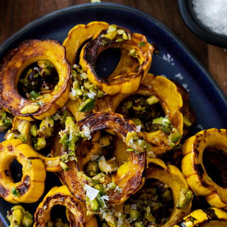 DELICATA SQUASH - My Favourite Winter Candy!