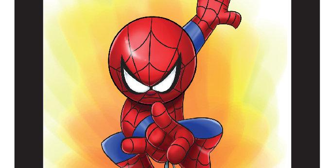 7 x 7 Spider-Man