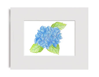 Blue flowers Art By Christina