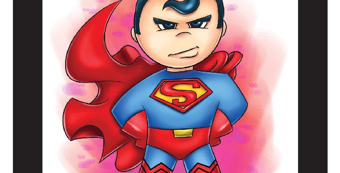 7 x 7 Super-Man