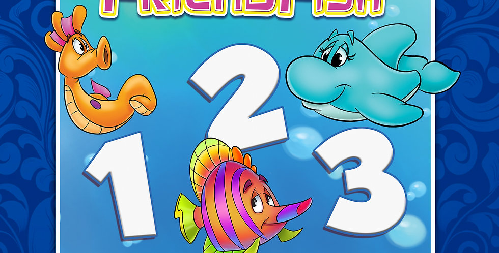 Counting with FriendFish Spanish