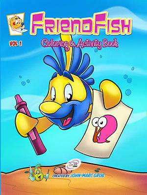 FriendFish Coloring book 1