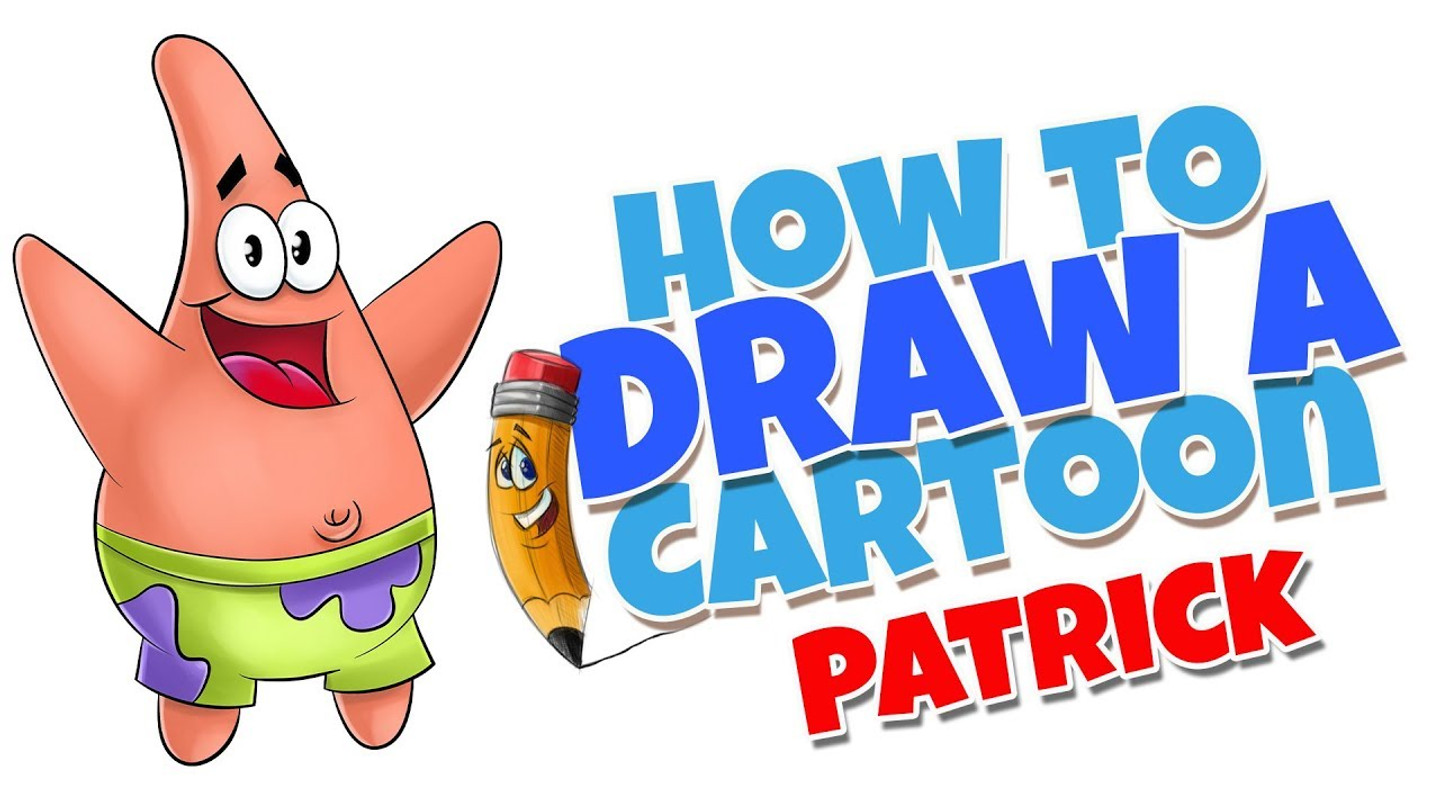 How to draw cartoons Patrick