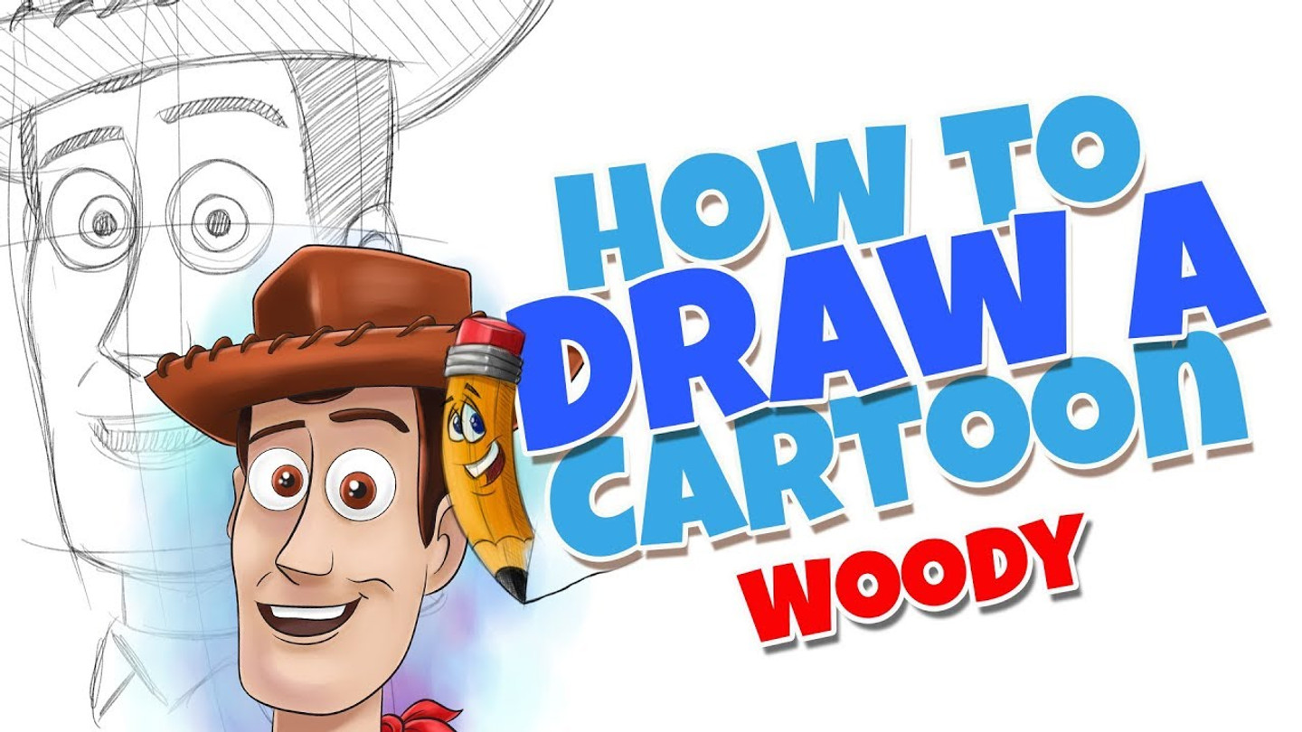 How to draw cartoons Woody