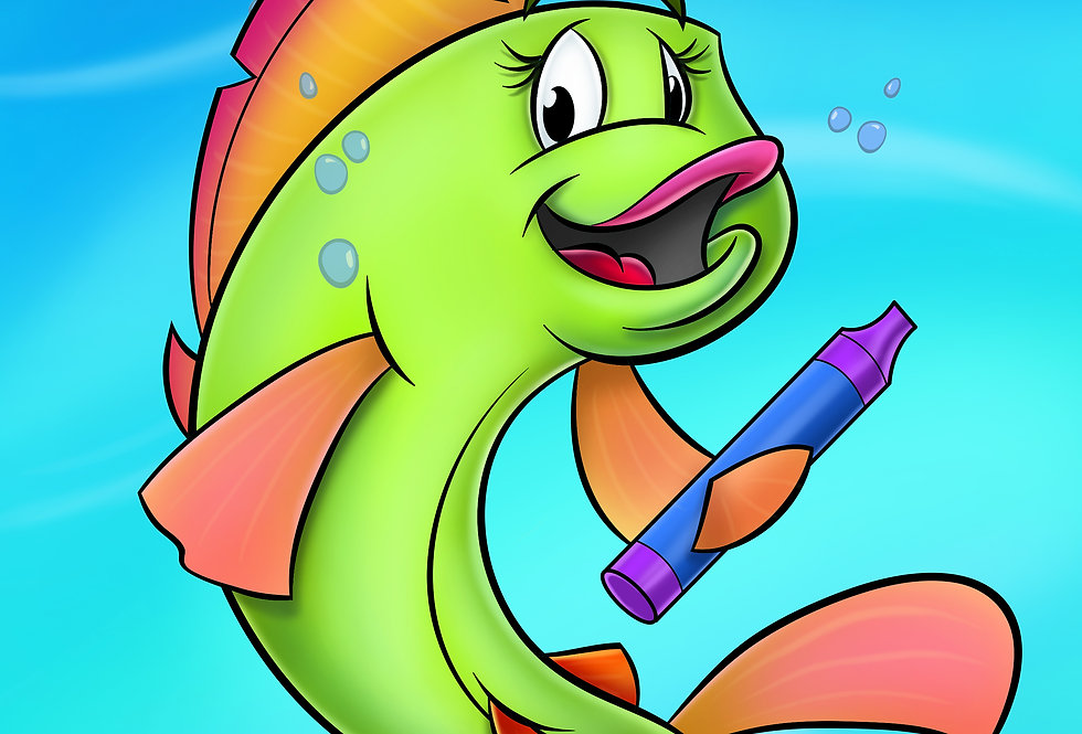 FriendFish Coloring Book Vol 3