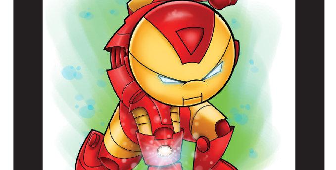 7 x 7 Iron-Man