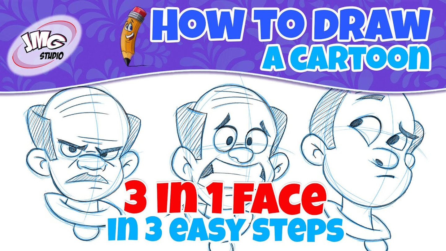 How to draw 3 different expressions