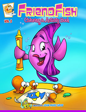 FriendFish coloring book #2