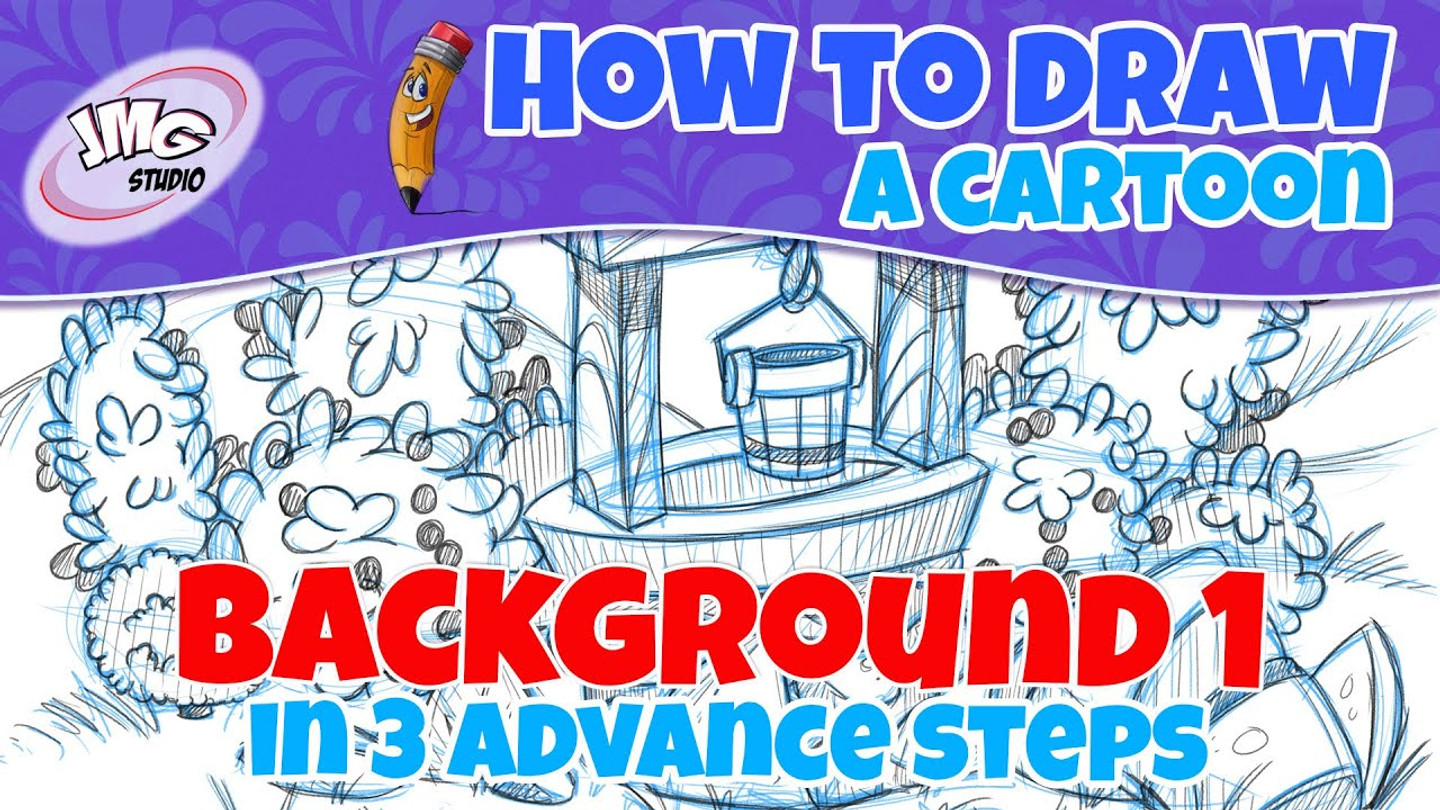 How to draw a fun background