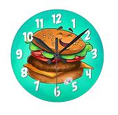 Burger Clock
