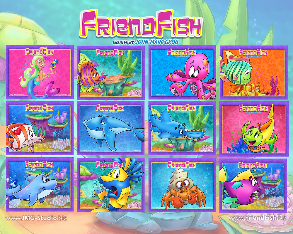 FriendFish John-Marc Grob JMG Studio