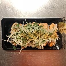 Aburi Sushi Salmon Wasabi Shoyu