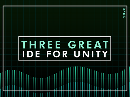 3 Great IDE for Unity in 2020